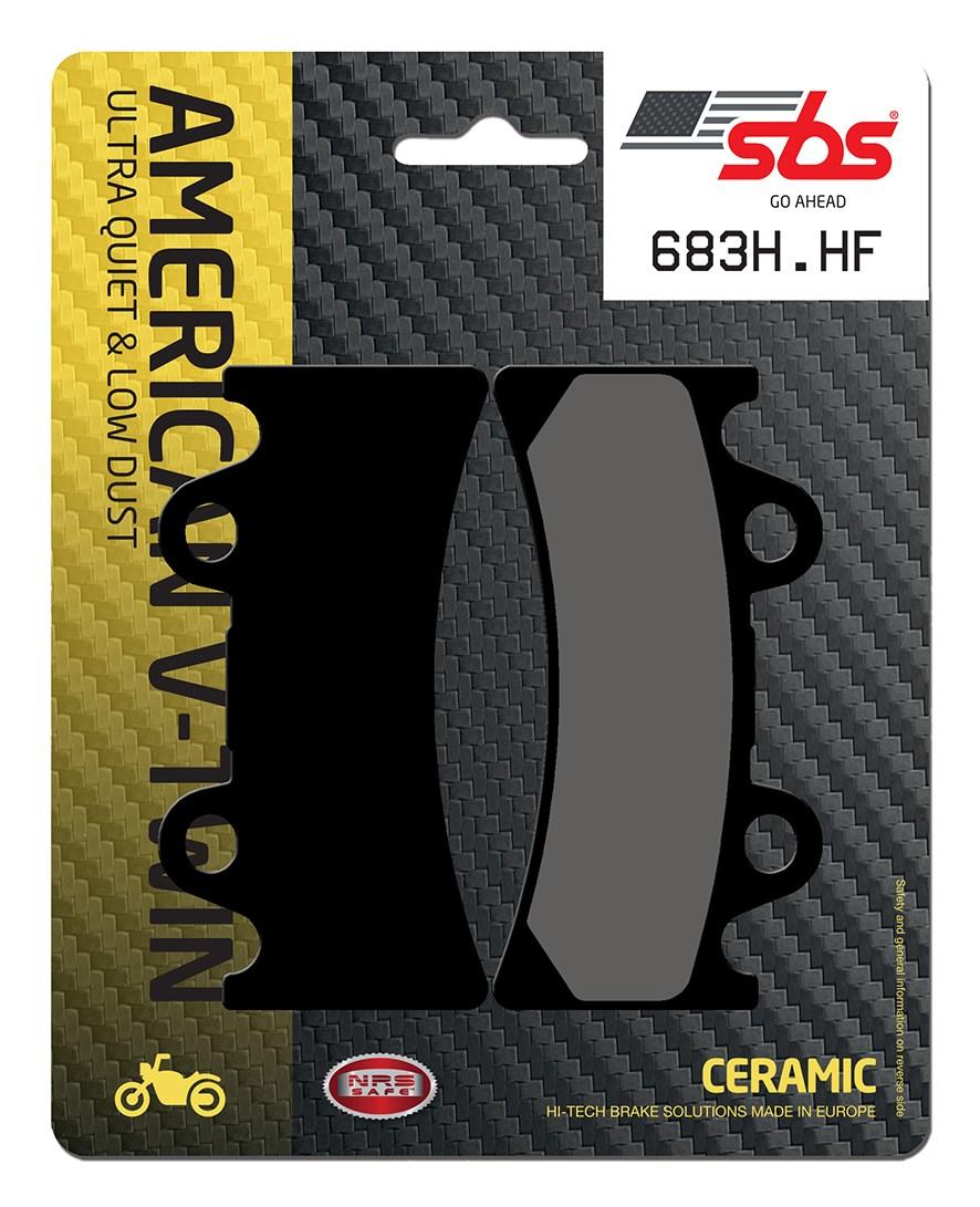 Plaquettes de frein moto SBS 683HF