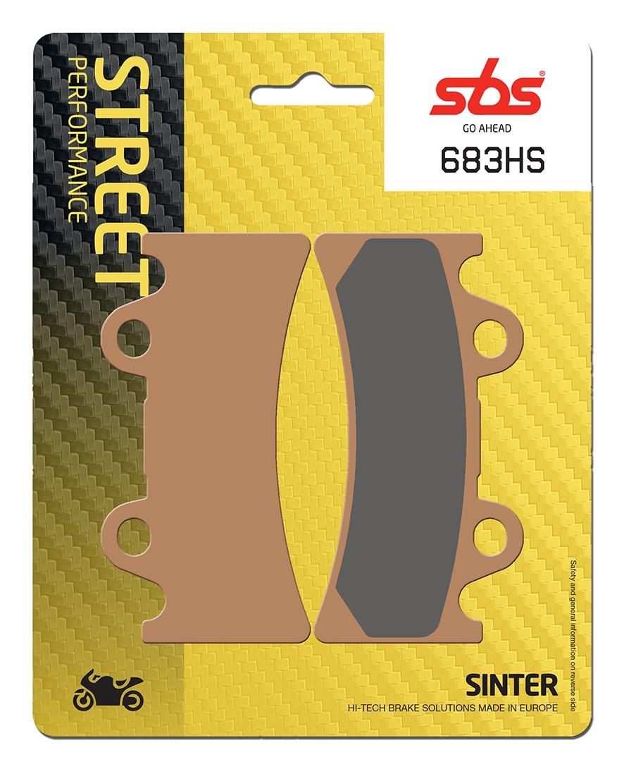 Plaquettes de frein moto SBS 683HS