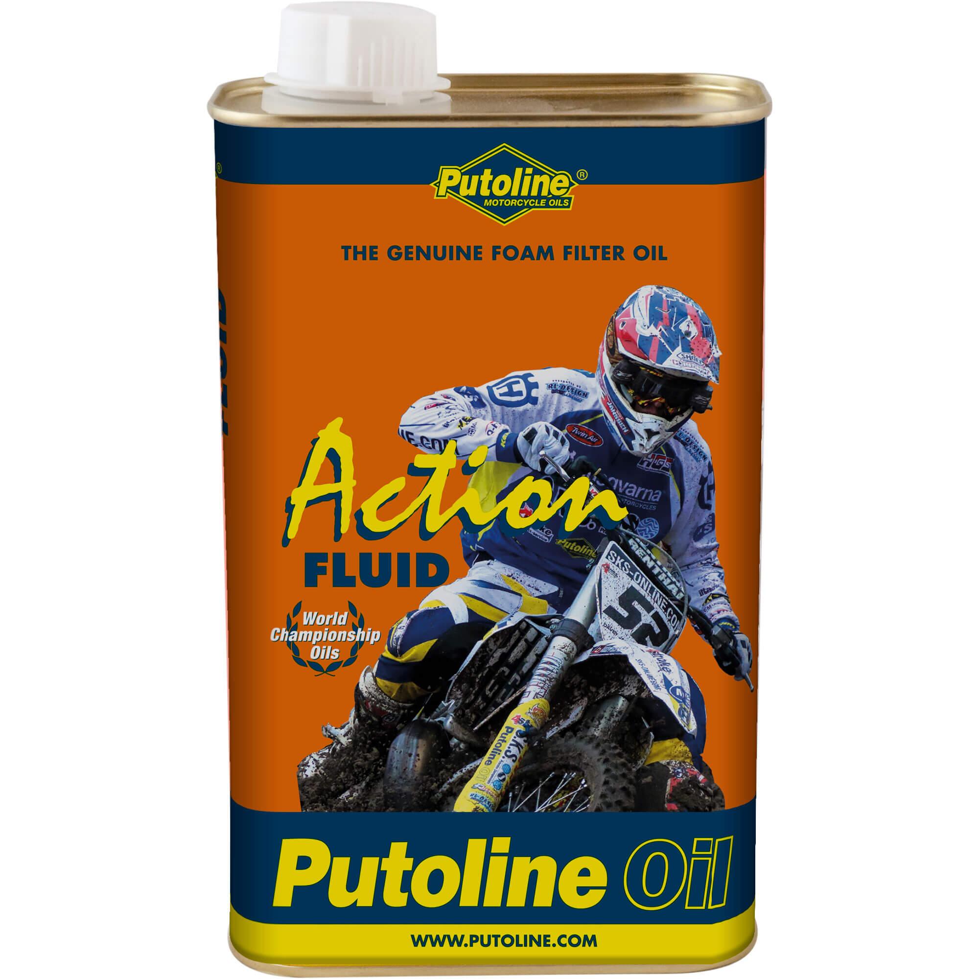 1L Entretien filtre à air Putoline Action Fluid