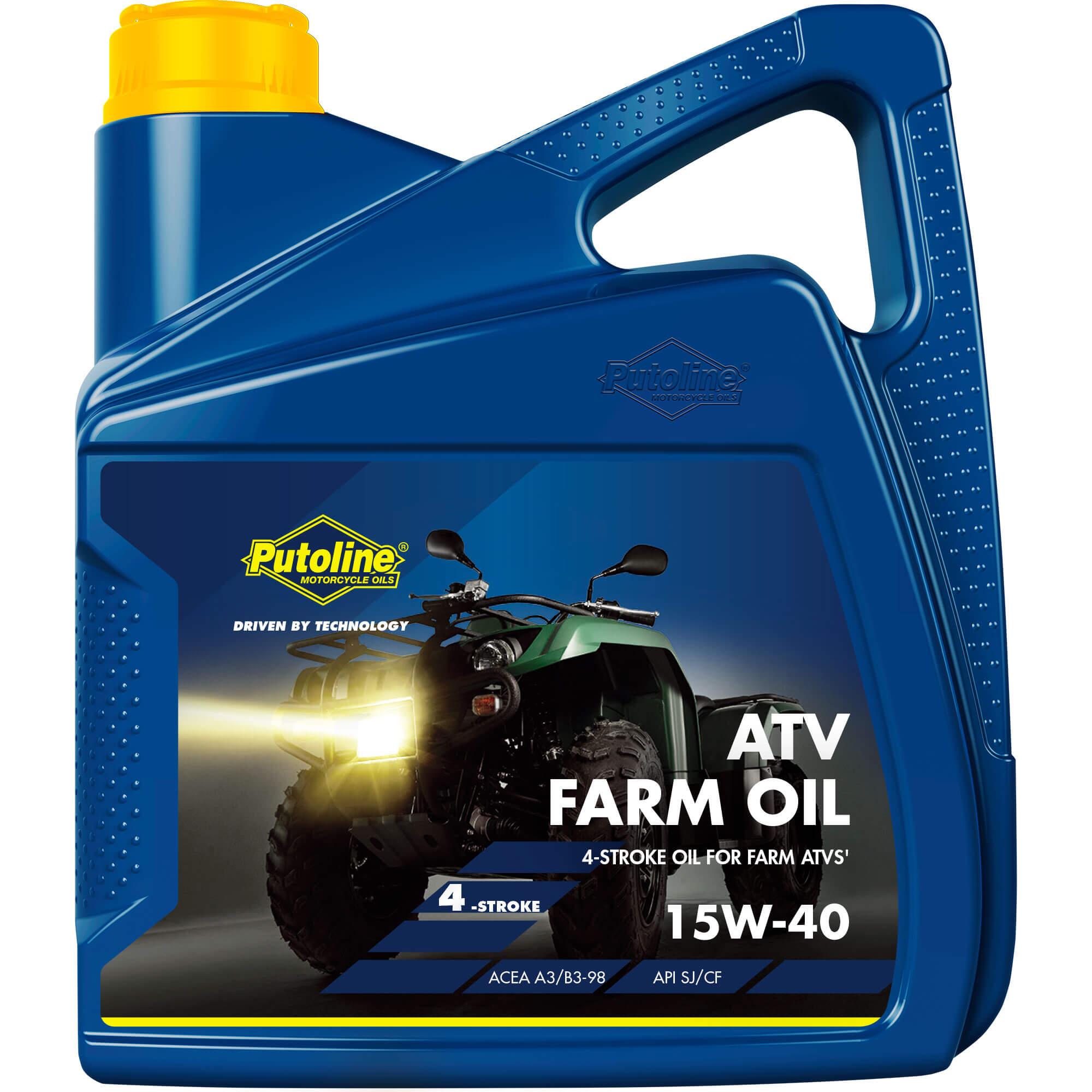 4L H. moteur 4 Tps 15W-40 Putoline ATV Farm Oil