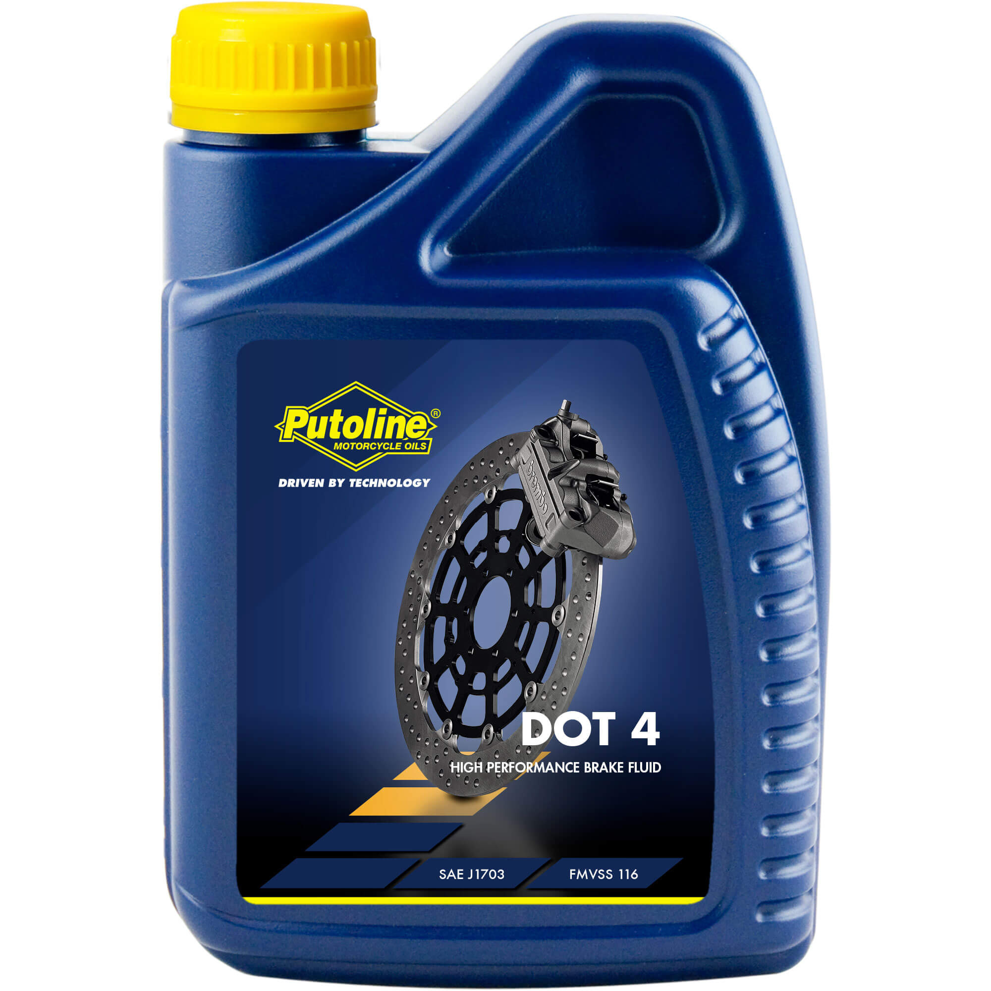 1L Liquide de frein Putoline DOT 4 Brake Fluid