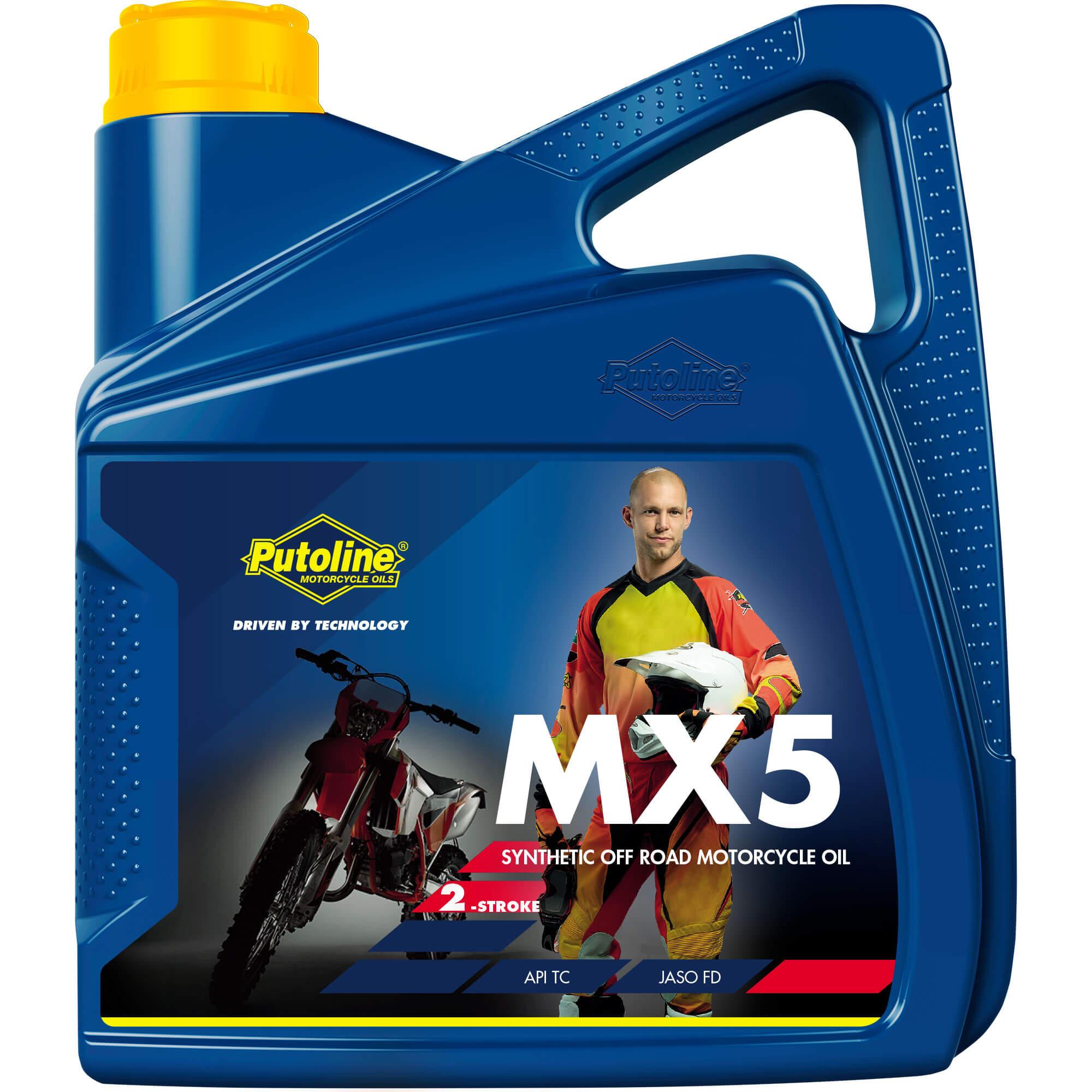 4L Bidon Putoline MX 5