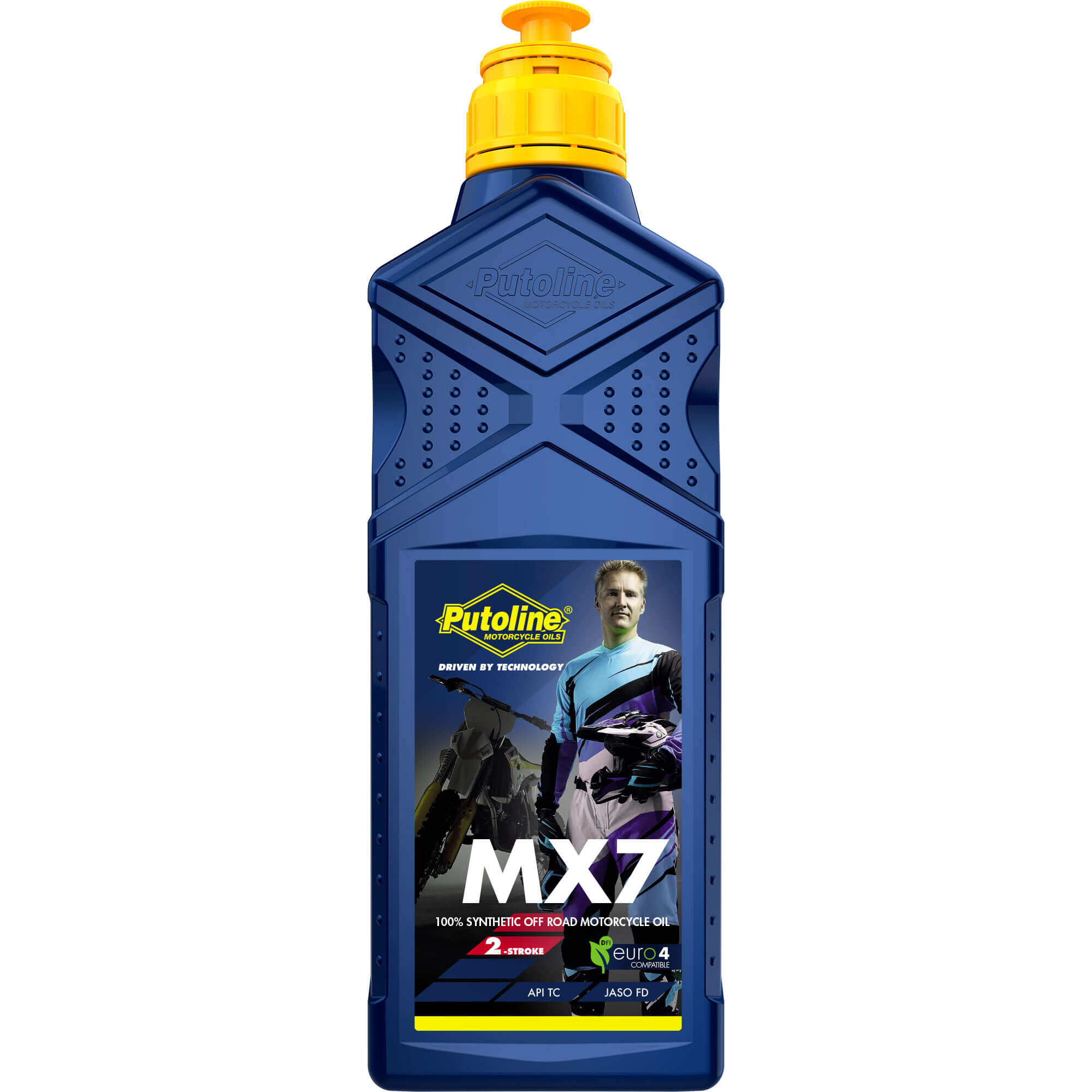 1L H. moteur 2 Tps Synthétique Putoline MX 7