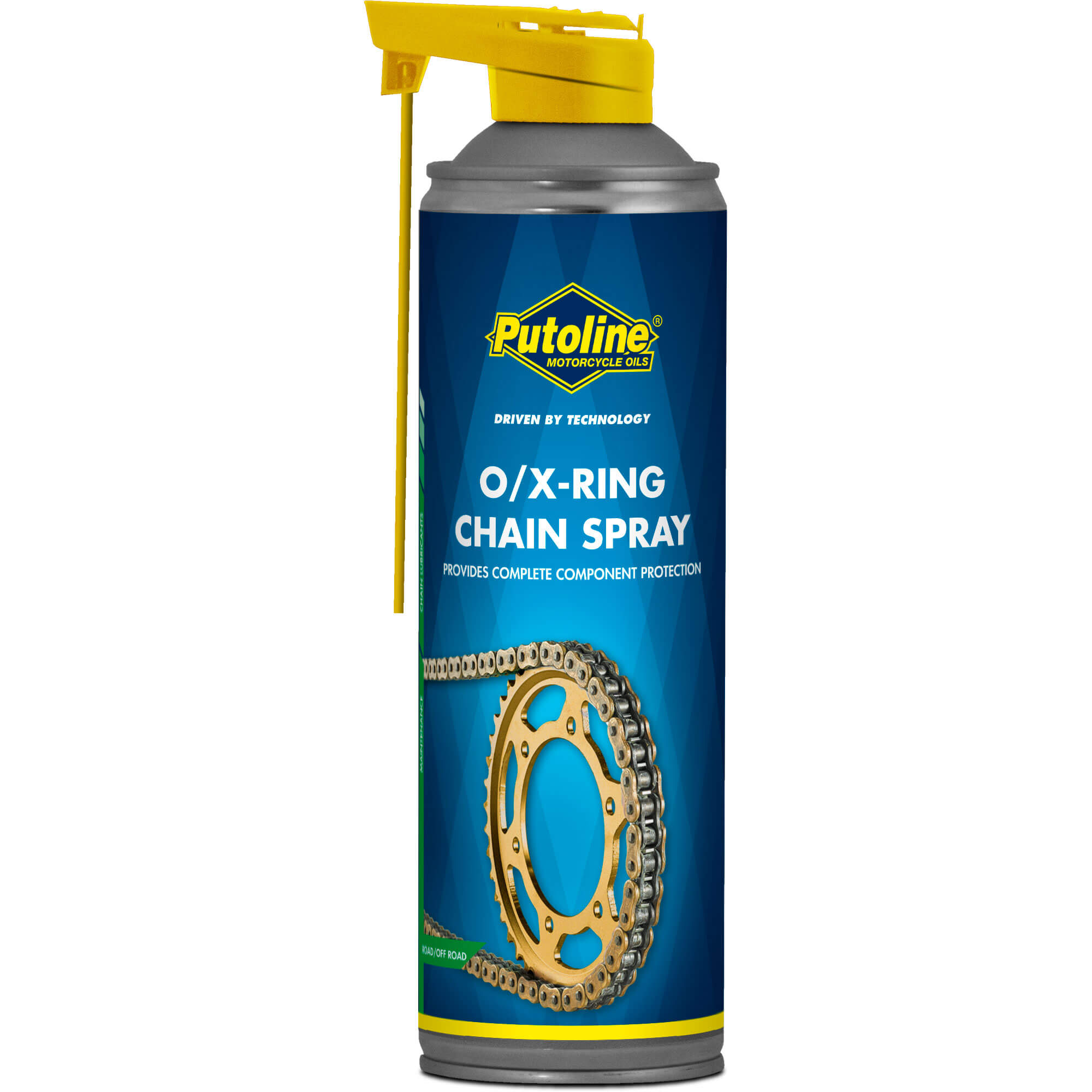 Aerosol 500 ml Lubrifiant chaine Putoline O/X-Ring Chainspra
