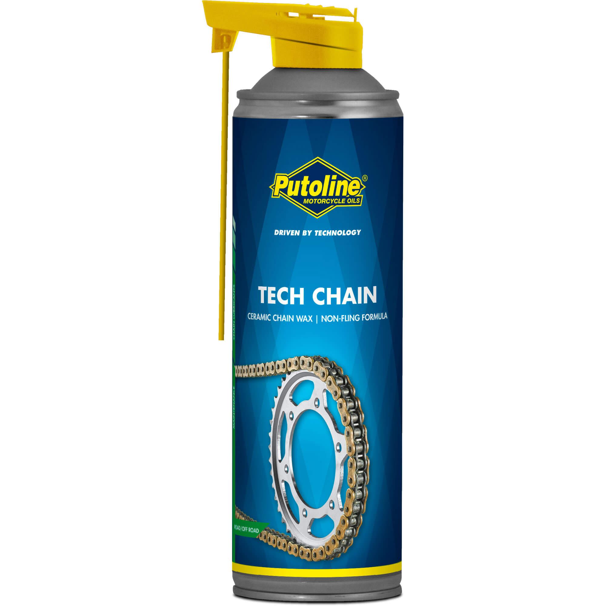 Aerosol 500 ml Lubrifiant chaine Putoline Tech Chain