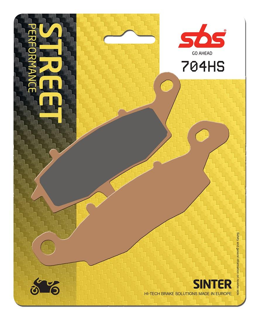 Plaquettes de frein moto SBS 704HS