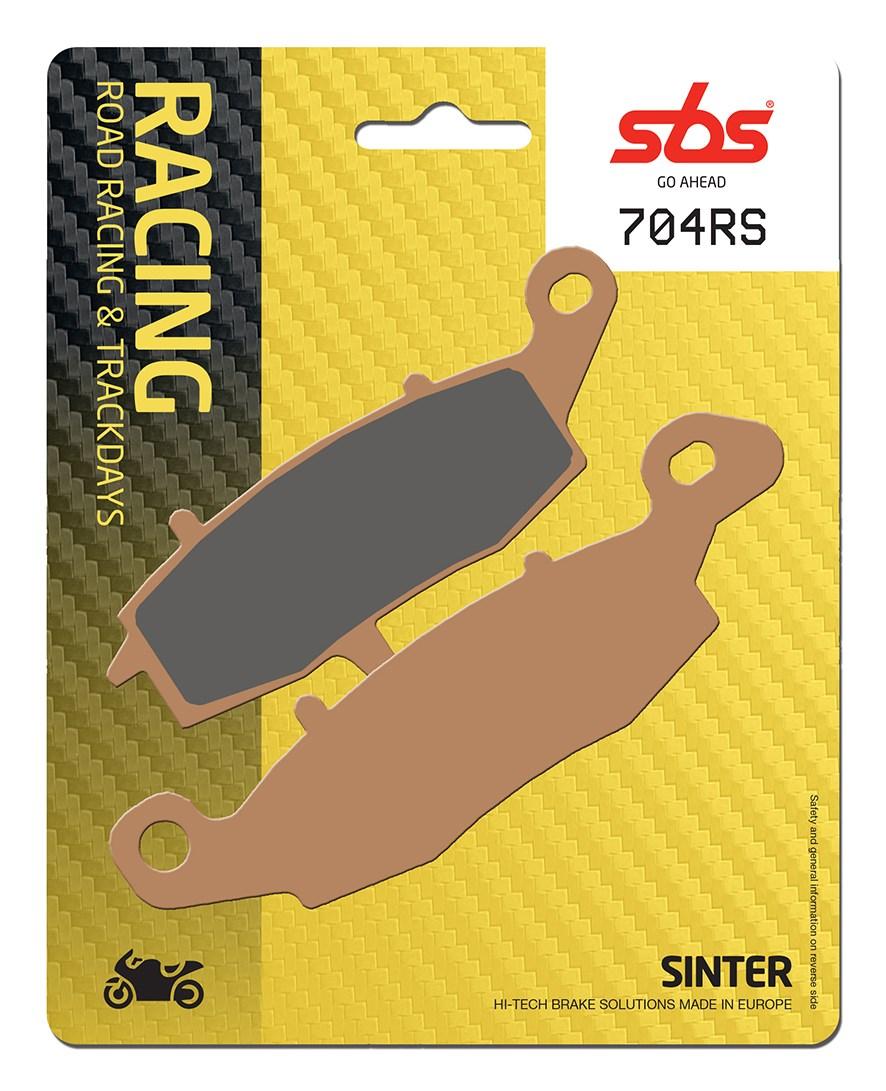Plaquettes de frein moto racing SBS 704RS