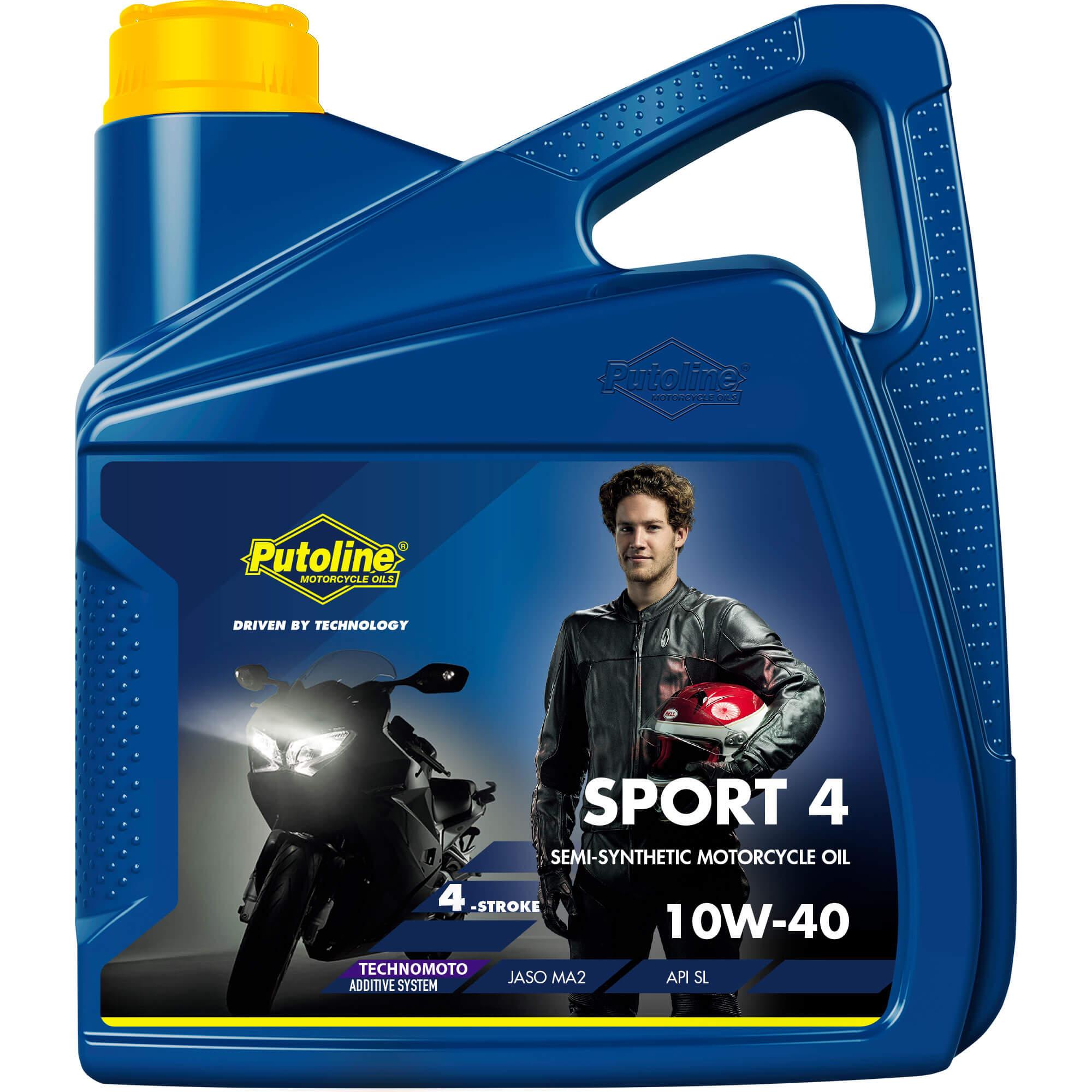Bidon de 4 L Putoline Sport 4R 10W-40