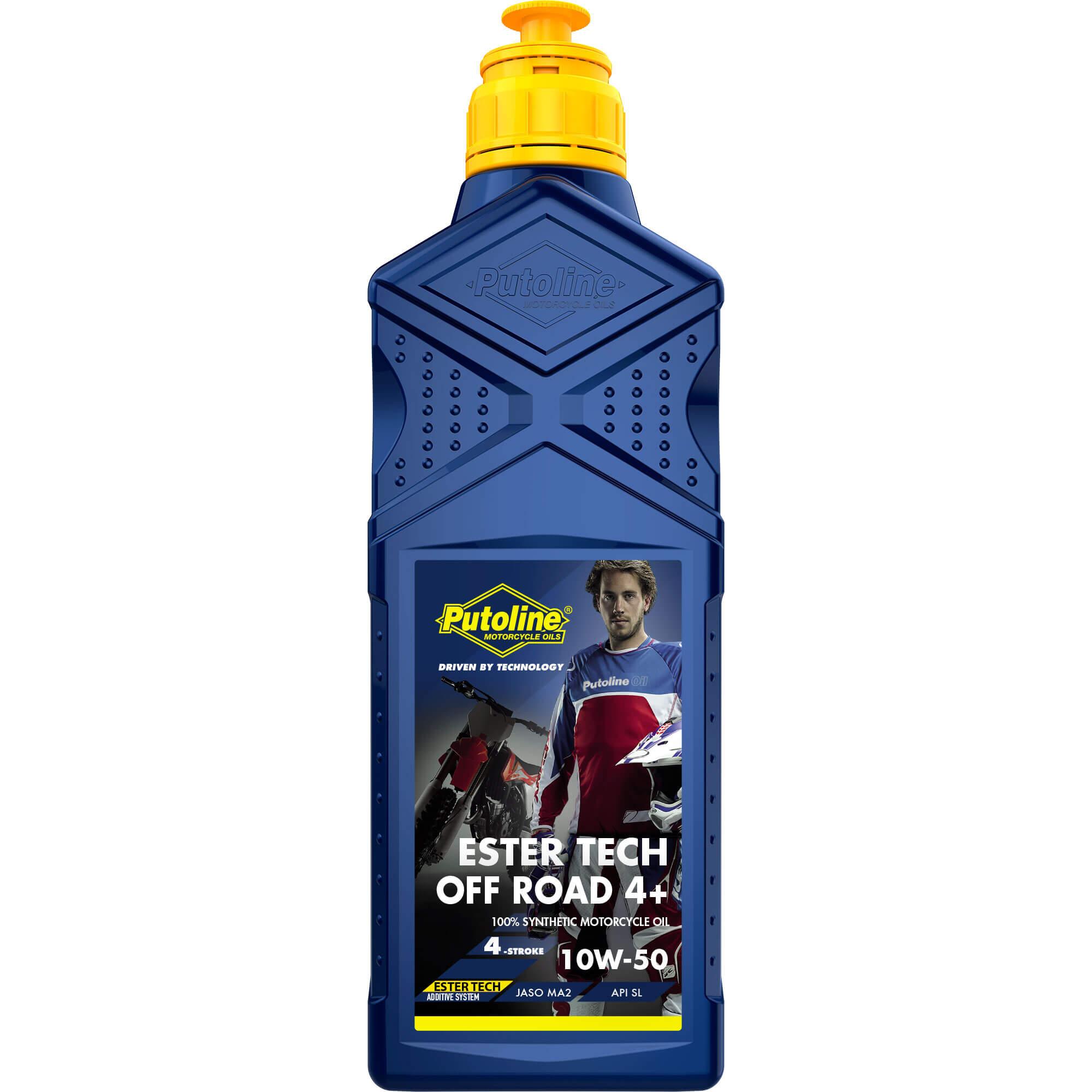 1L Putoline Ester Tech Off Road 4+ 10W50