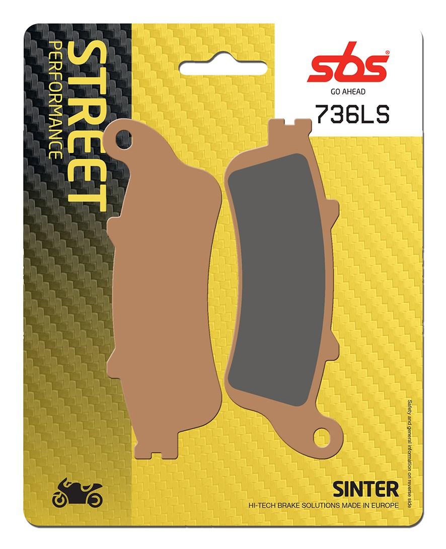 Plaquettes de frein moto SBS 736LS
