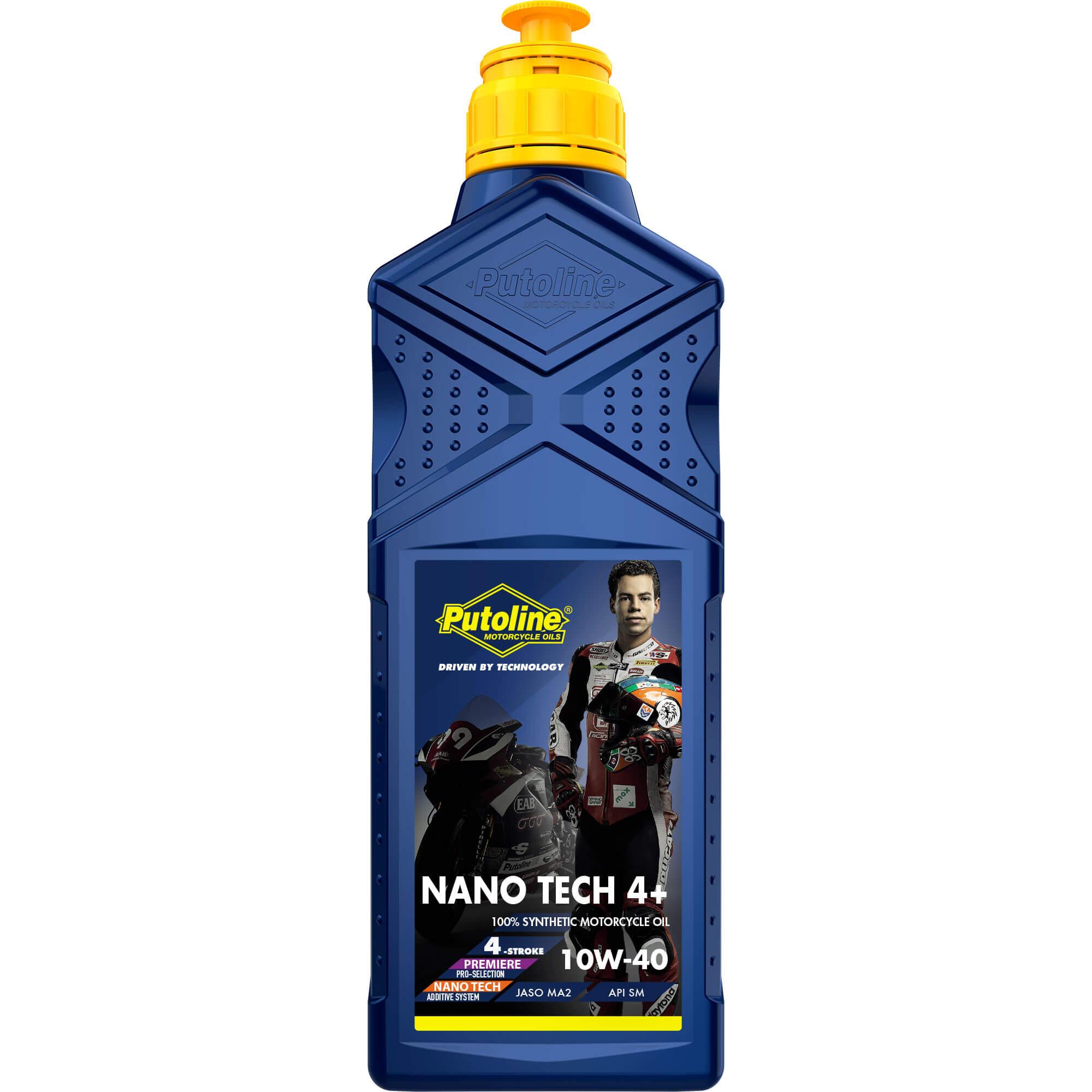 (= 74308 ) Bidon de 1 L Putoline N-Tech® Pro R+ 10W-40