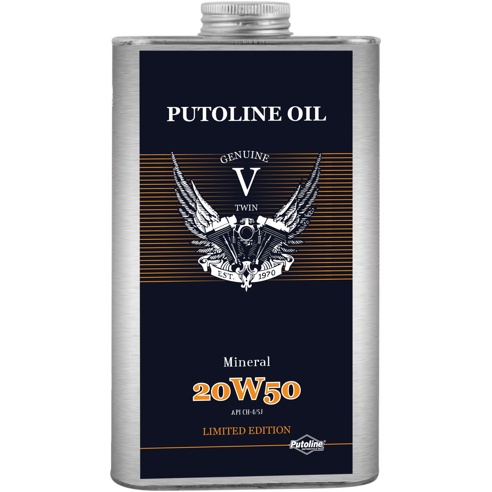1 L H. Moteur Putoline Mineral V-Twin 20W50