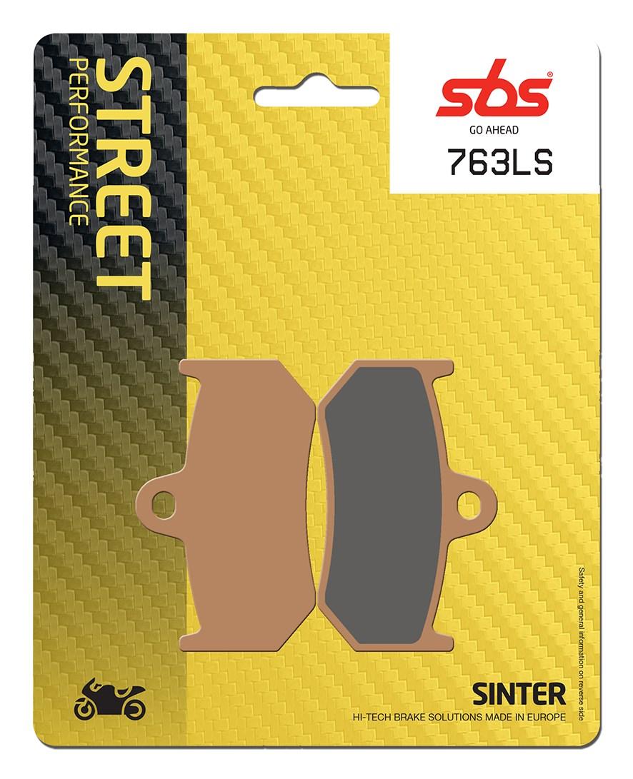 Plaquettes de frein moto SBS 763LS