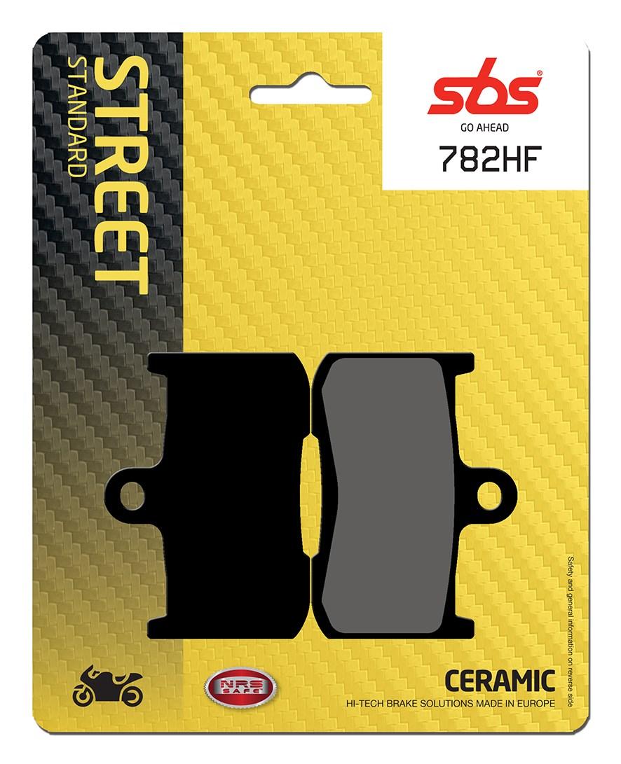 Plaquettes de frein moto SBS 782HF