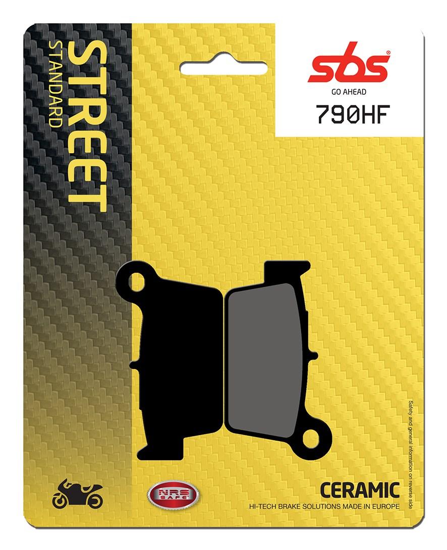 Plaquettes de frein moto SBS 790HF