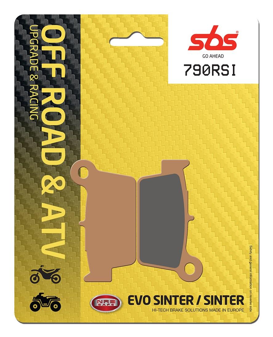 Plaquettes de frein moto racing SBS 790RSI