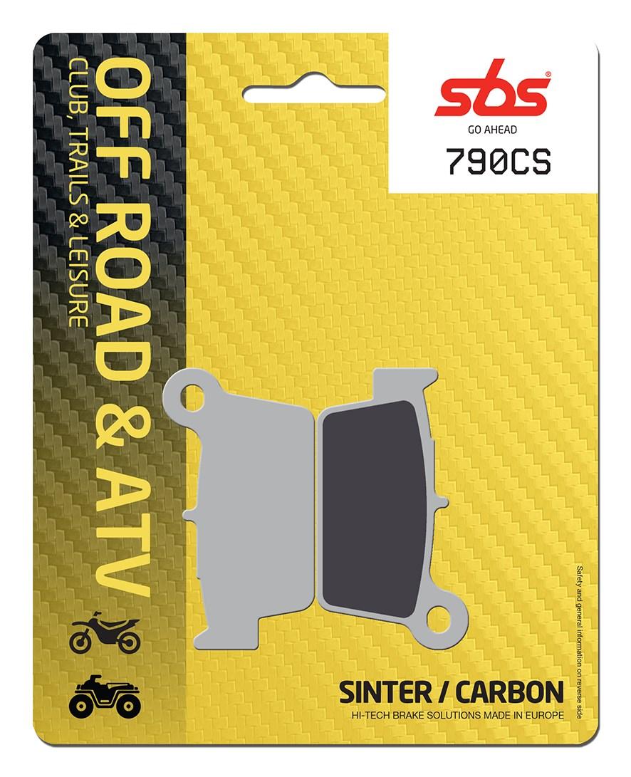Plaquettes de frein moto SBS 790CS