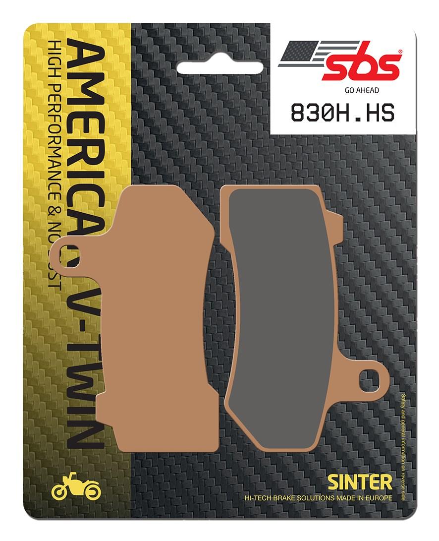 Plaquettes de frein moto SBS 830H.HS