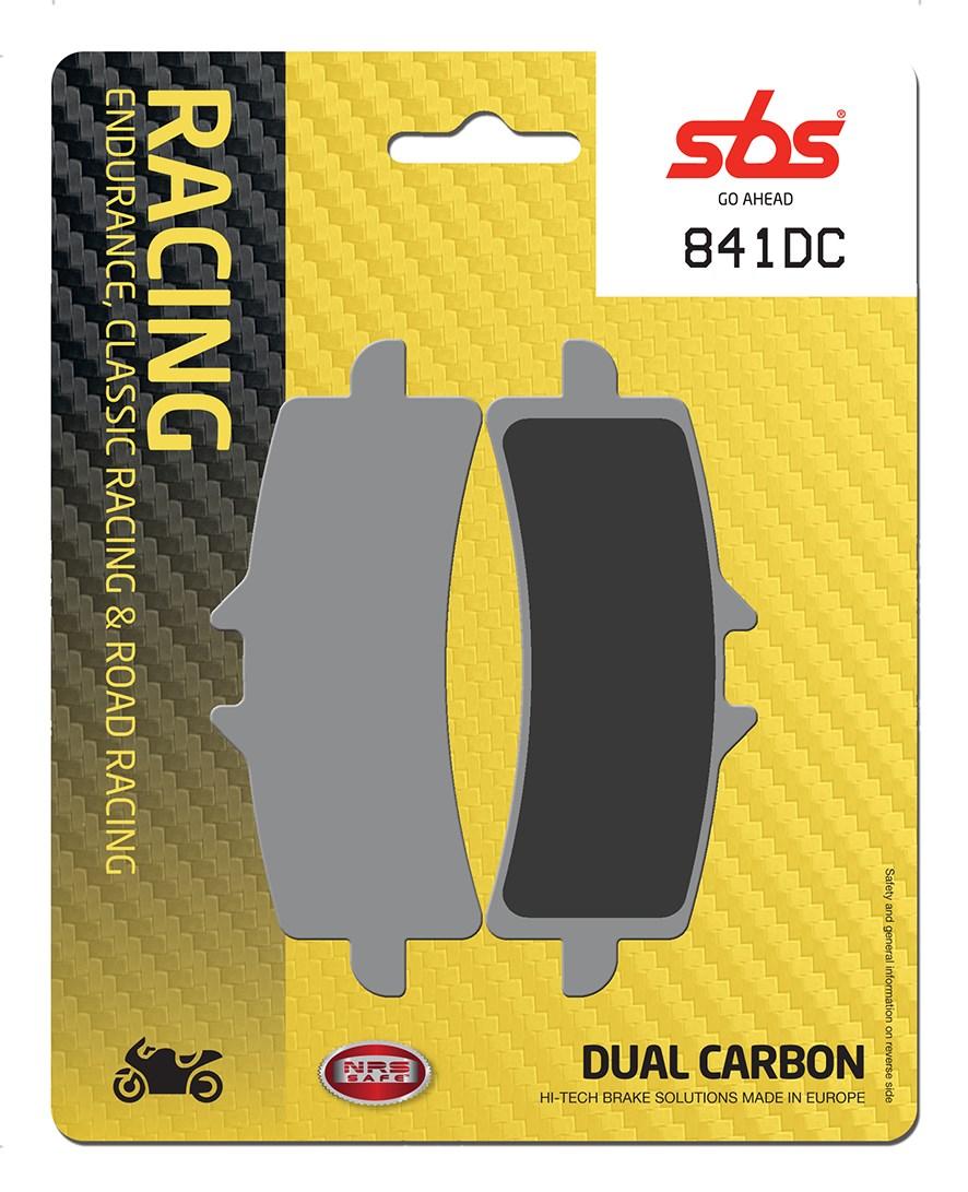 Plaquettes de frein moto racing SBS 841DC