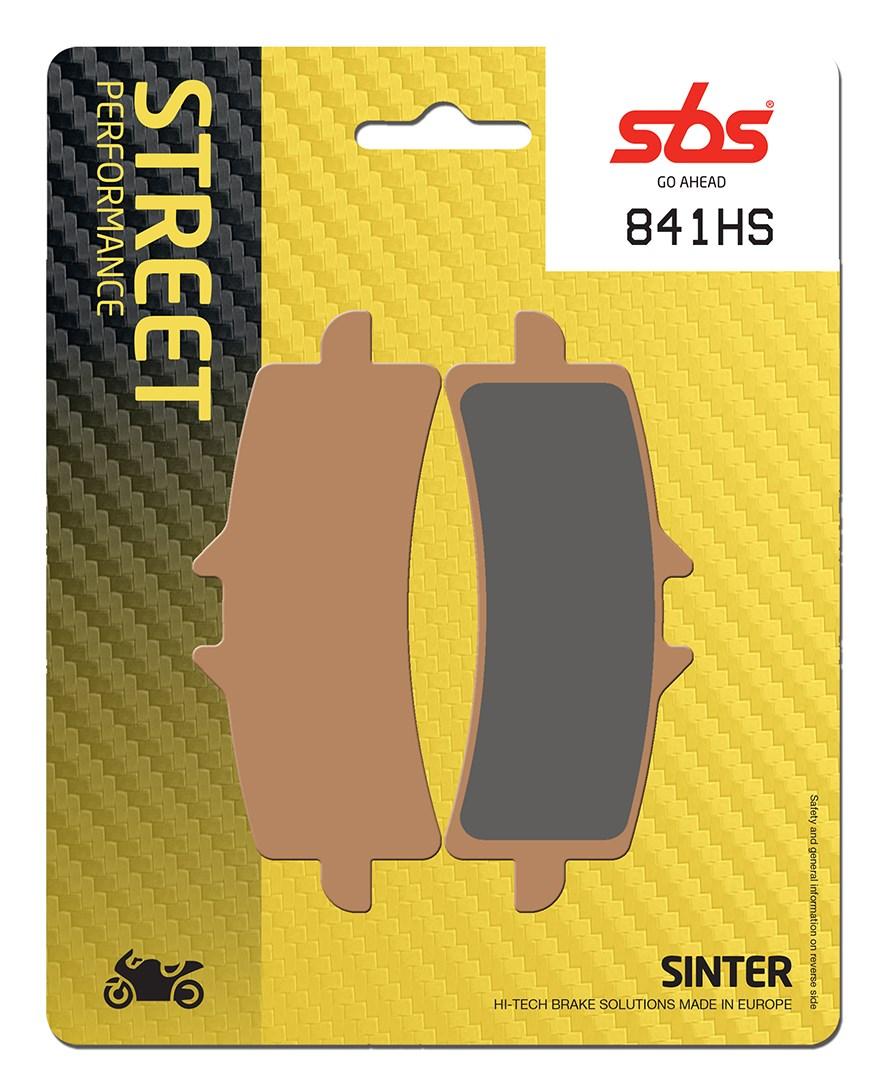 Plaquettes de frein moto SBS 841HS