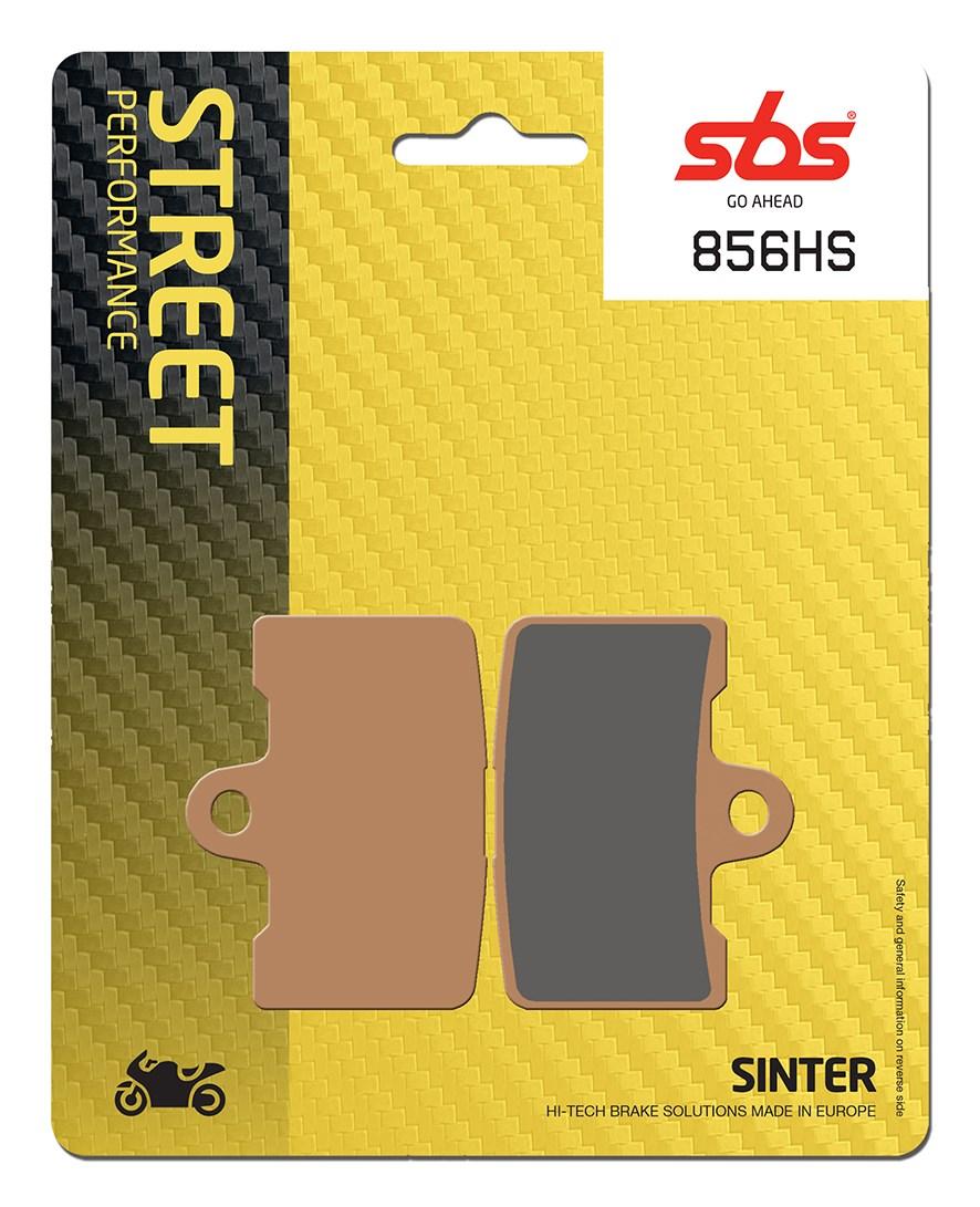 Plaquettes de frein moto SBS 6H.HS