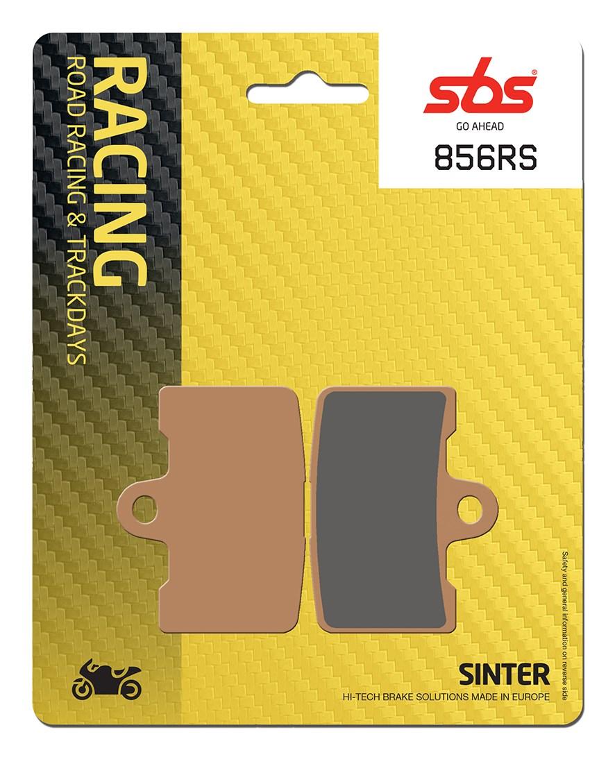 Plaquettes de frein moto racing SBS 856RS