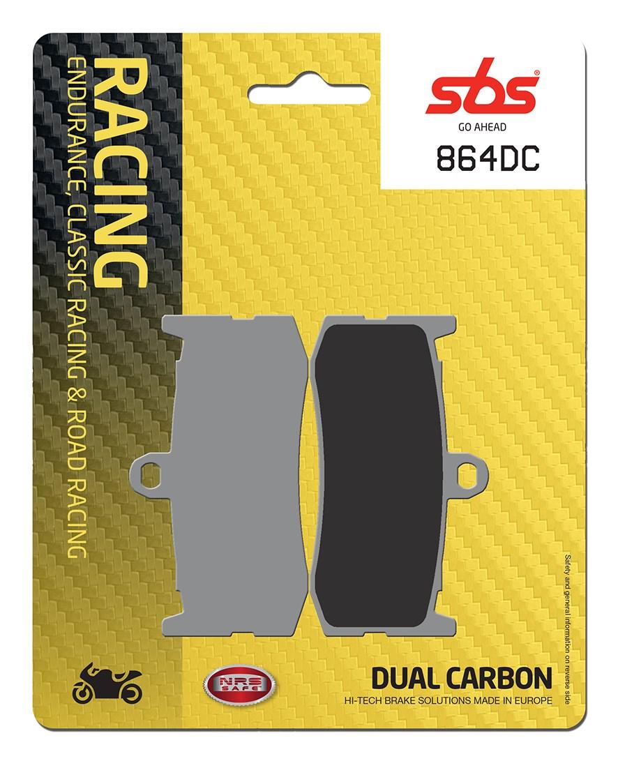 Plaquettes de frein moto racing SBS 864DC