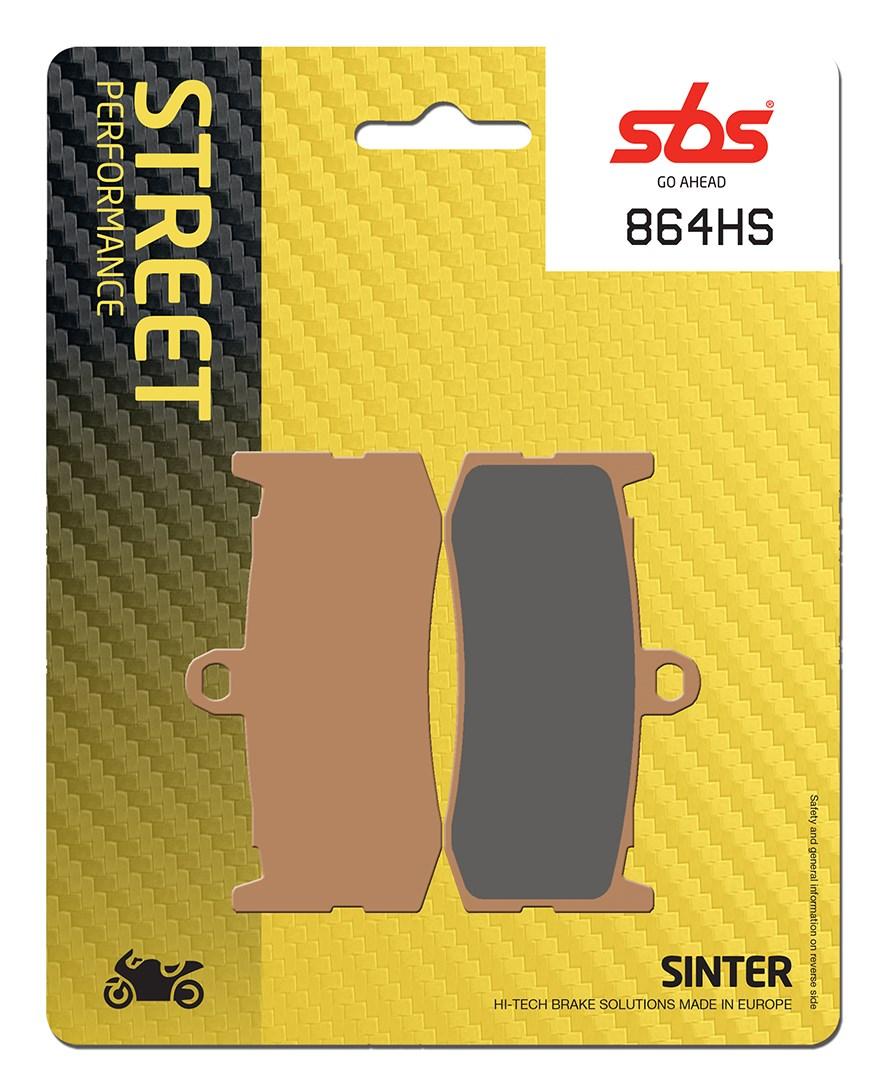 Plaquettes de frein moto SBS 864HS