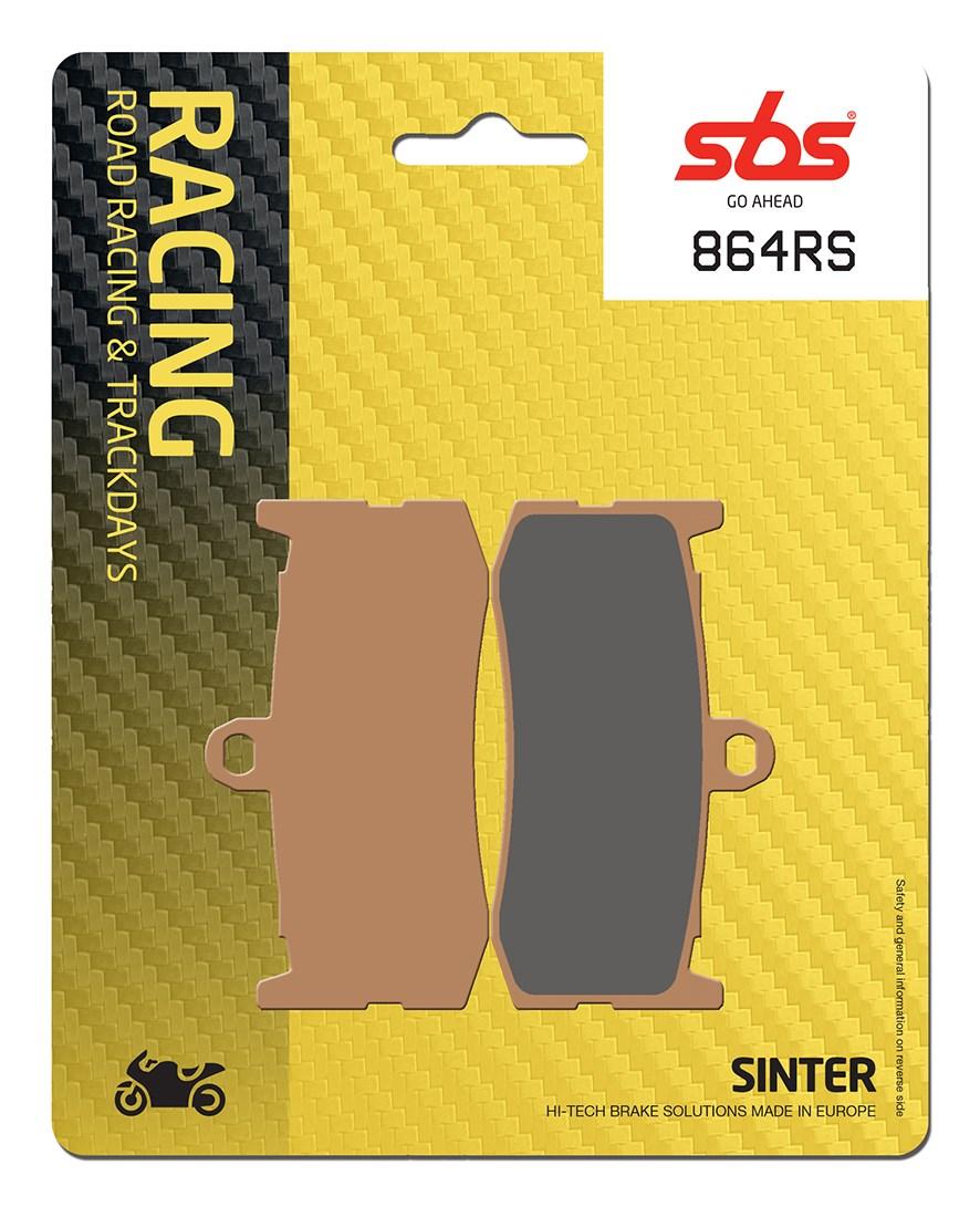 Plaquettes de frein moto racing SBS 864RS
