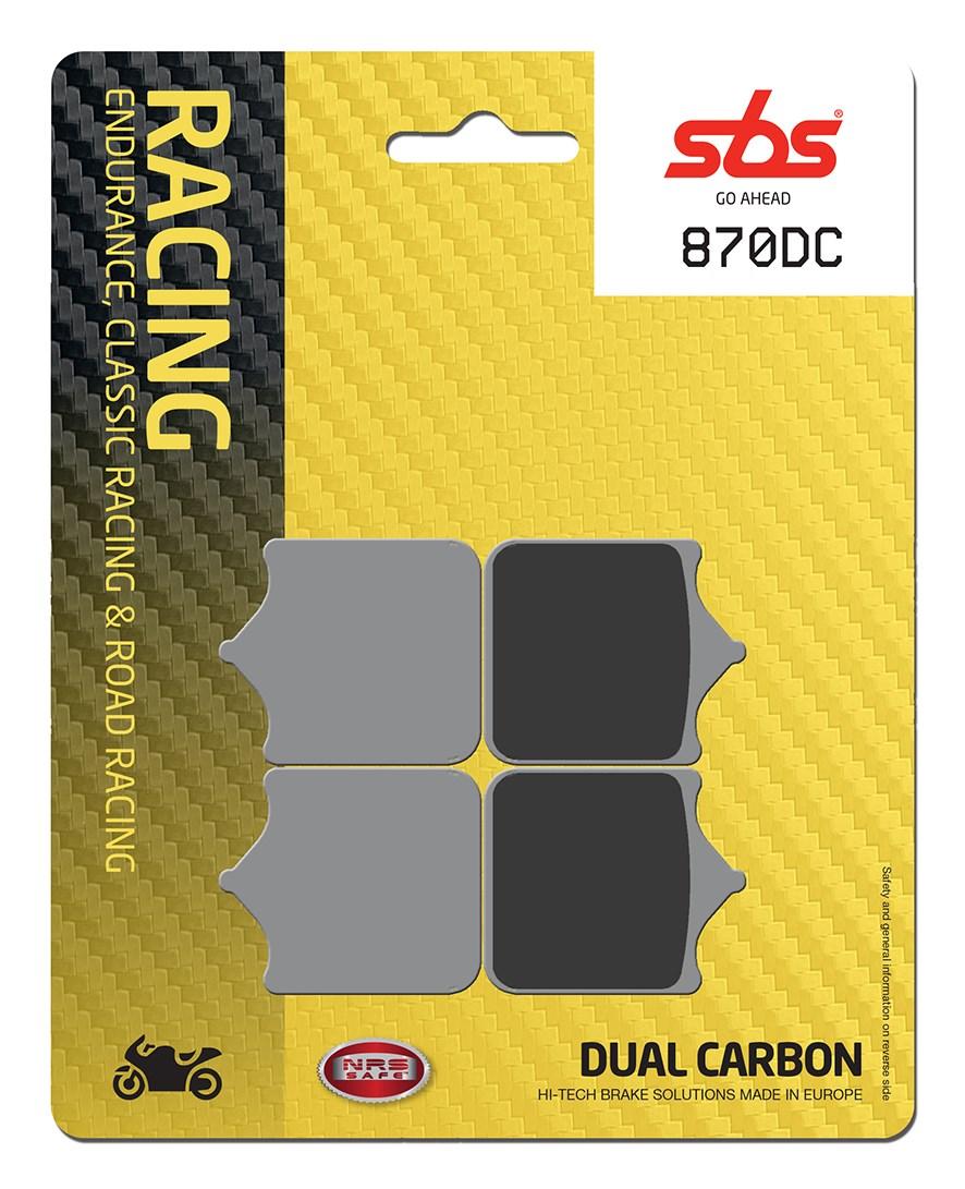 Plaquettes de frein moto SBS 870DC