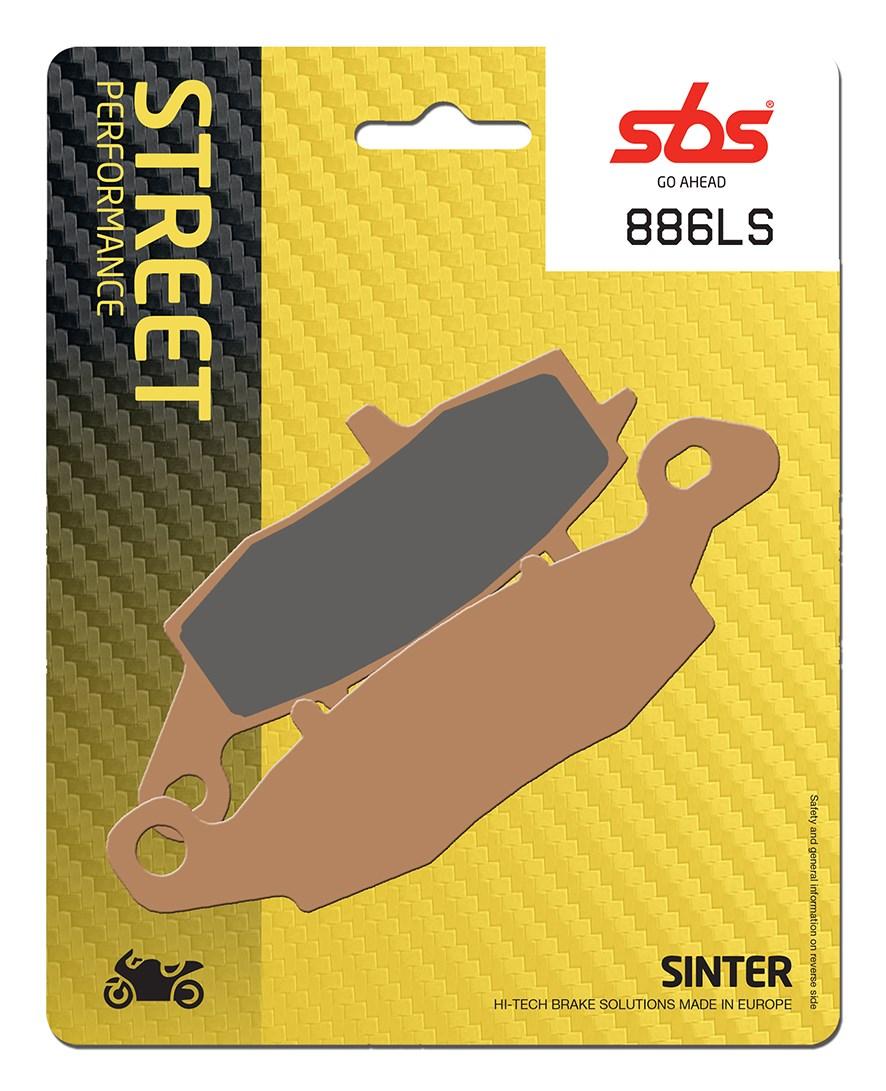 Plaquettes de frein moto SBS 886LS