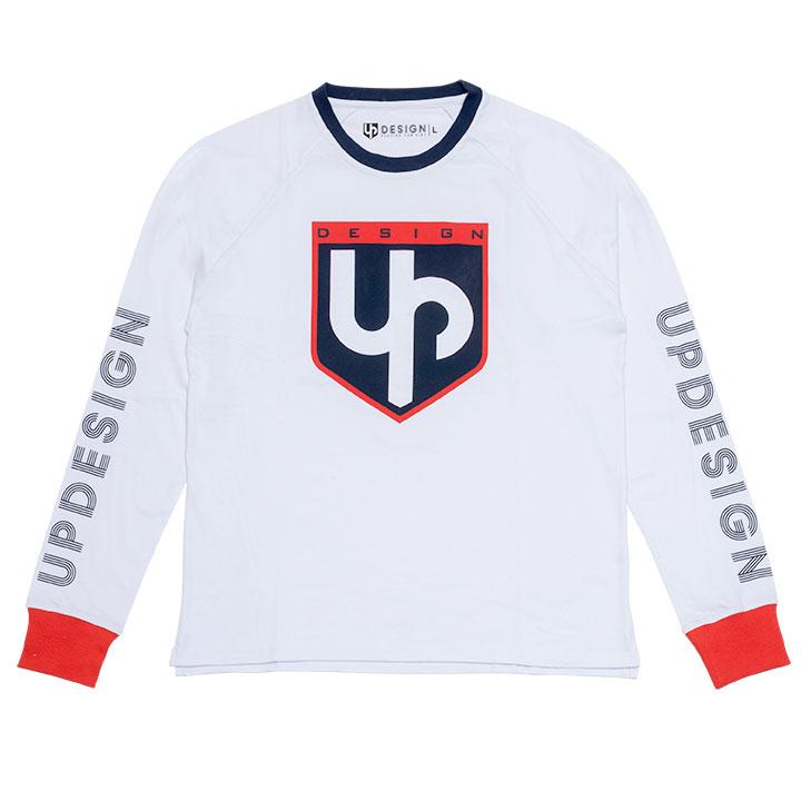 Tee-shirt UP ML Blanc XL