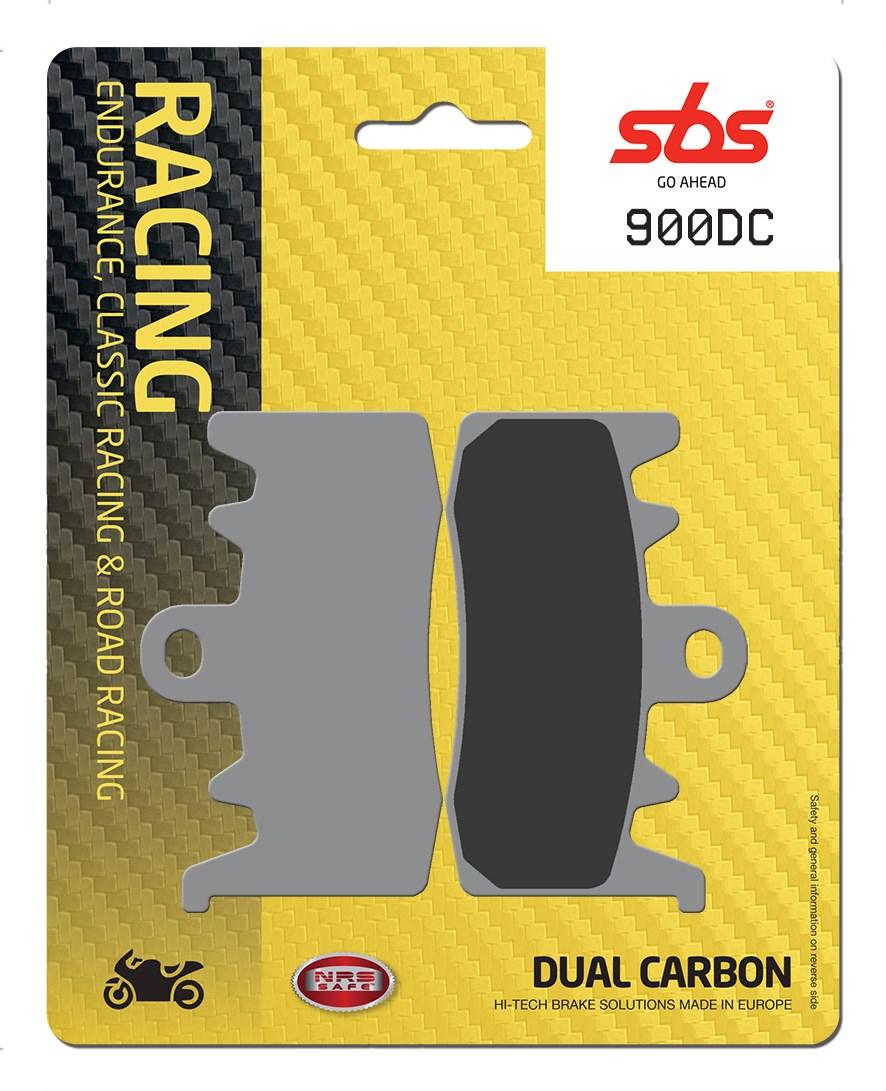 Plaquettes de frein moto SBS 900DC