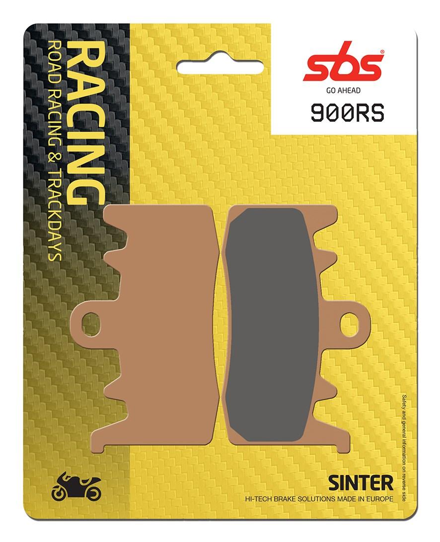 Plaquettes de frein moto SBS 900RS