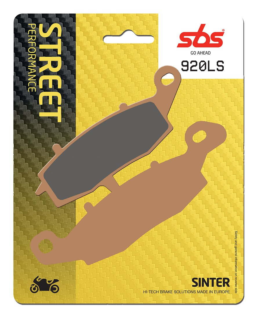 Plaquettes de frein moto SBS 920 (LS)