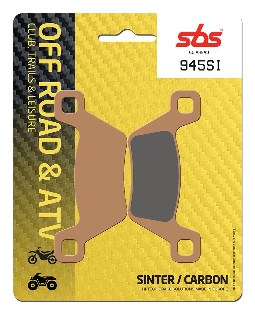 Plaquettes de frein moto SBS 945 SI