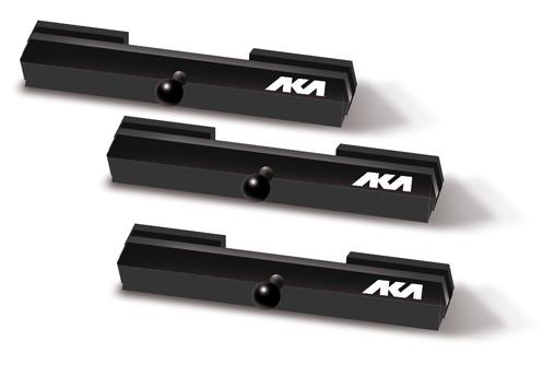 Pin strap AKA pour tear off hauteur 45mm x3