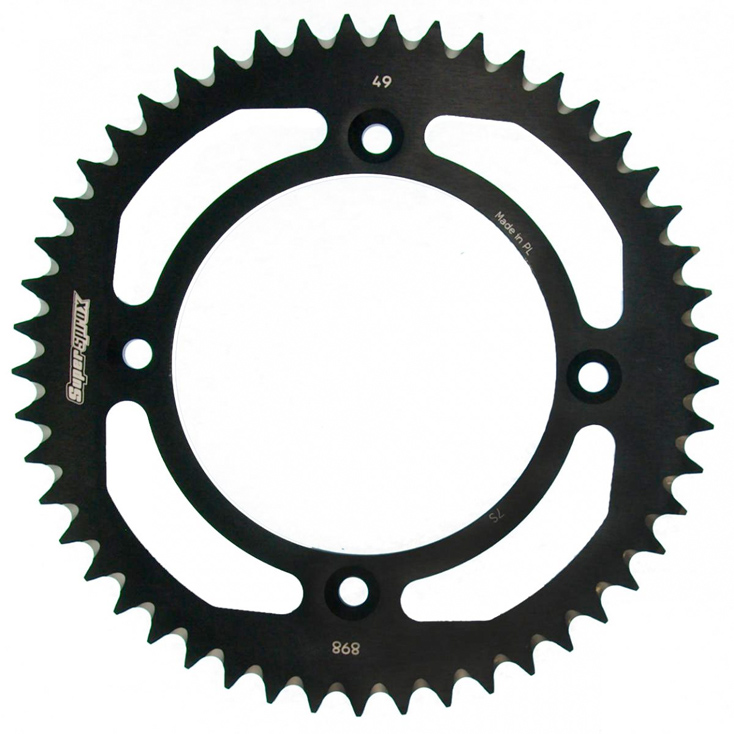 Couronne. Alu SUPERSPROX RAL-898:48-blk