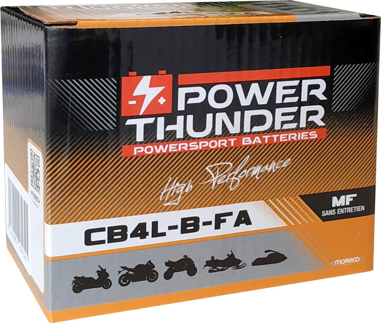 BATTERIE POWER-THUNDER CB4-LB (FA)