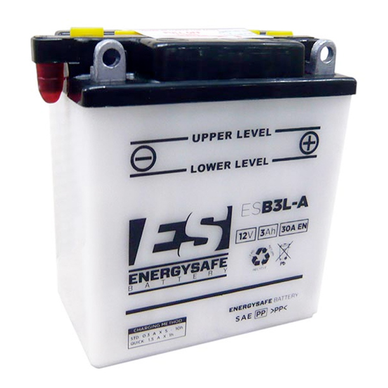 BATTERIE ES ESB3L-A 12V/3AH Pack Acide Inclus
