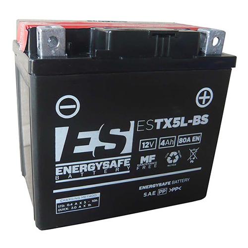 BATTERIE ES ESTX5L-BS 12V/4AH
