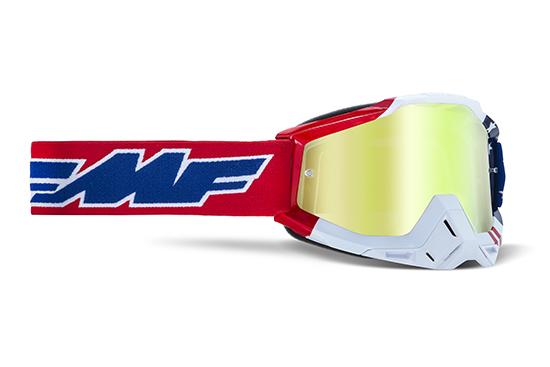 FMF POWERBOMB Masque US of A - écran or réaliste