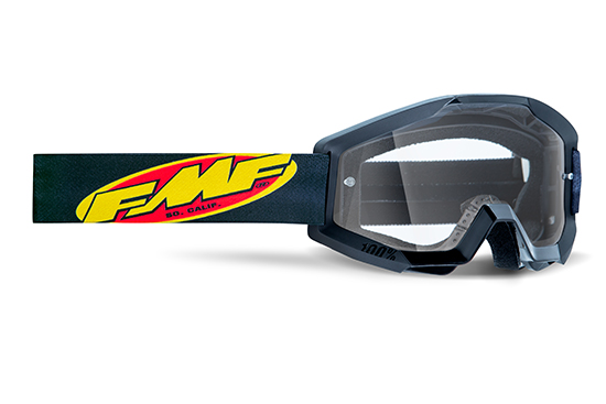 FMF POWERCORE Masque Core Black - écran tranparent