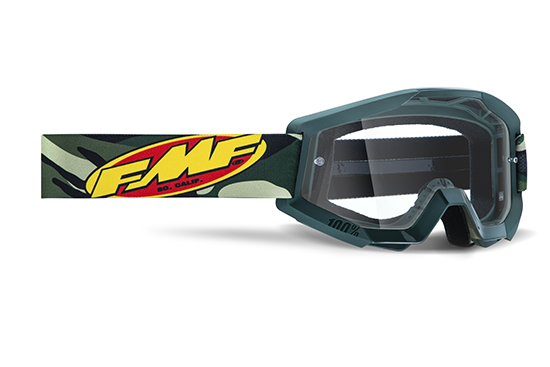 FMF POWERCORE Masque Assault Camo - écran tranparent