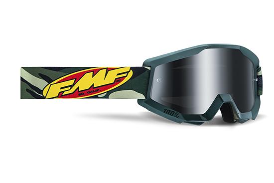 FMF POWERCORE Masque Assault Camo - écran argent miroir