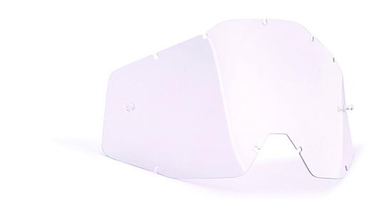 FMF POWERBOMB/POWERCORE écran de remplacement anti-buée tranparent
