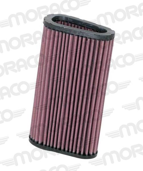 K&N Filtre air HONDA CBF600/HORNET, 07-09