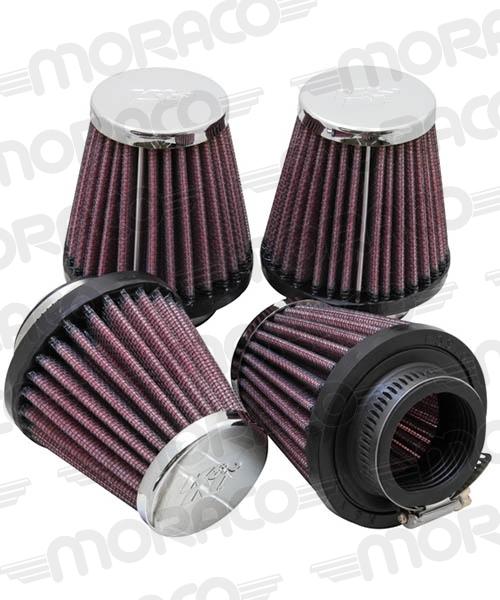 K&N Filtre air (4) 1-9/16''FLG,3''B,2''T,3''H