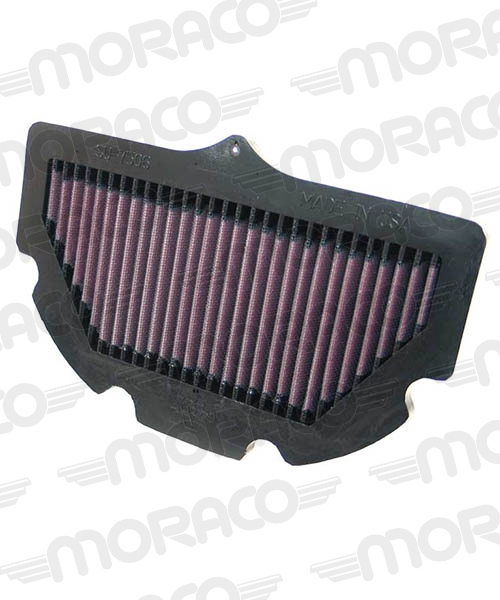 K&N Filtre air SUZUKI GSXR600/750 06-09