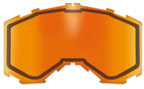 Destockage Ecran AKA Double orange transparent injecté + pins